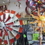 An assortment of yard art gifts available at Foreman's