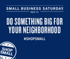 Small Business Saturday Specials