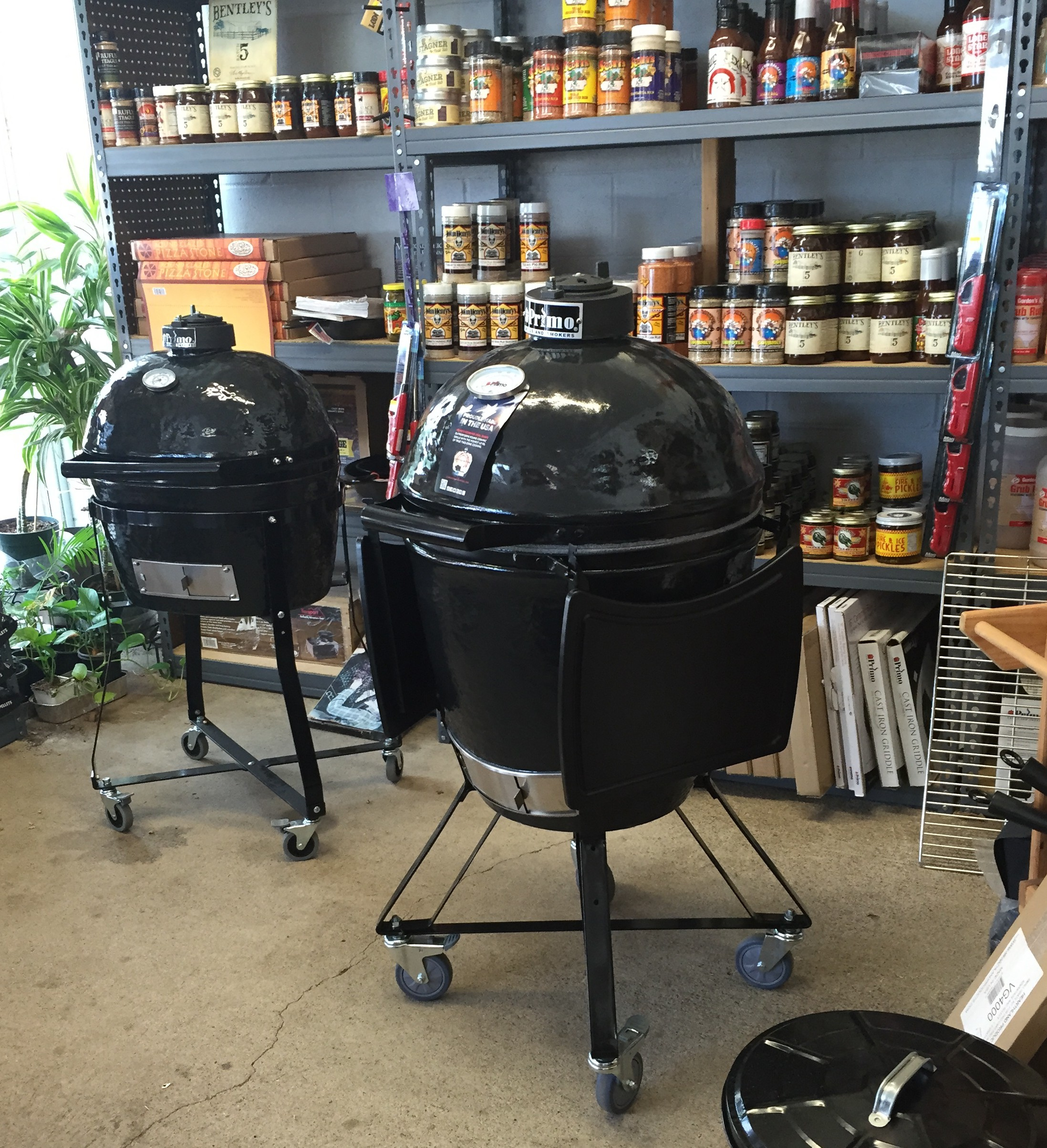 primo oval beats round every time general store proudly carries primo grills - Primo Grills