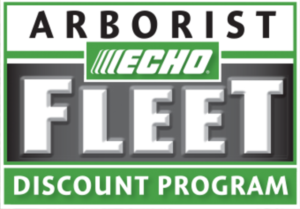 Echo Arborist Fleet Discount Program