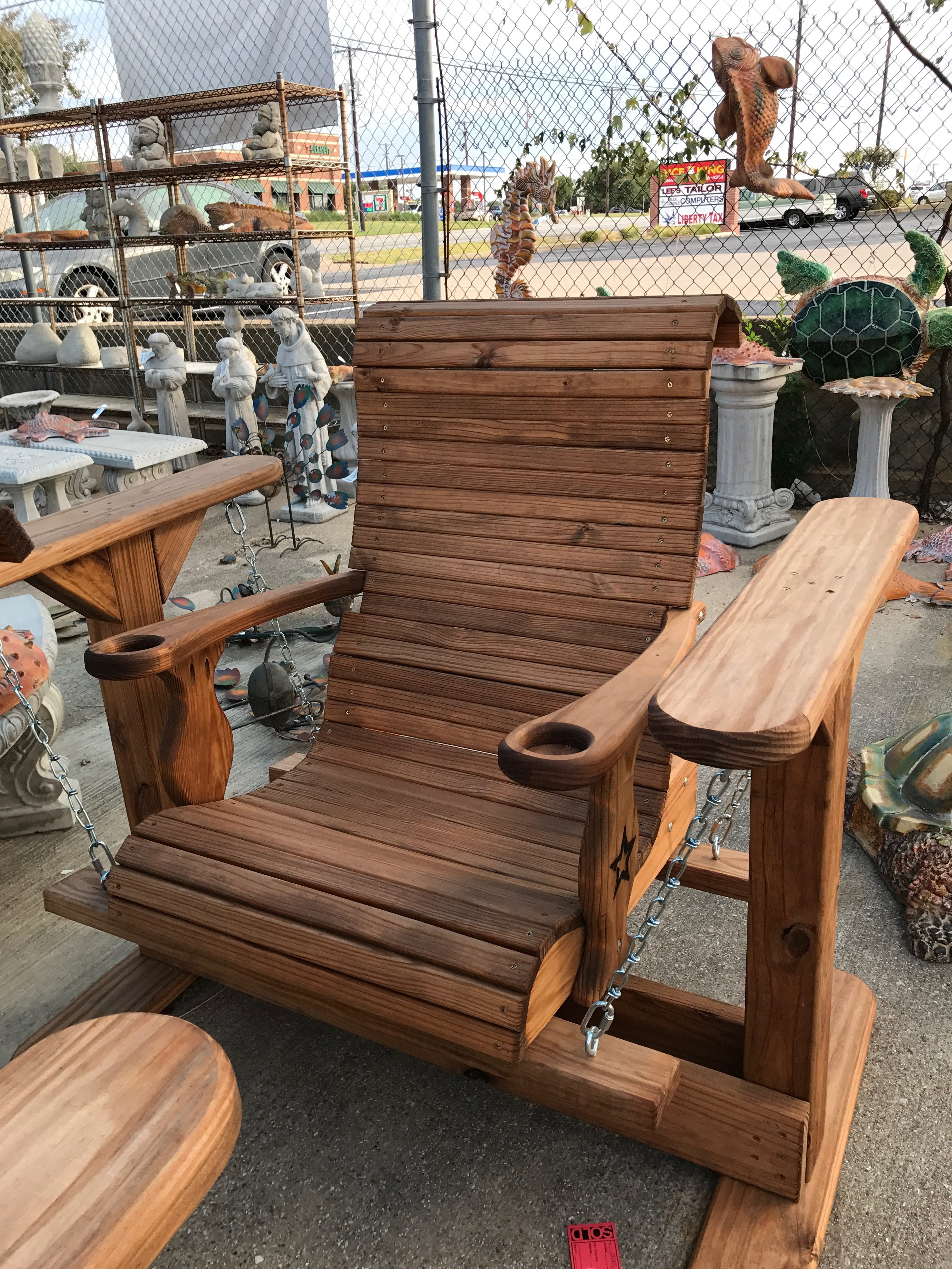 Quality wooden outdoor furniture foreman 39 s general store for Furniture quality wood