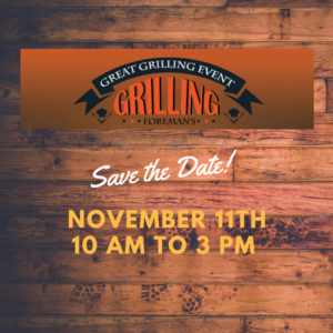 November Grilling Event