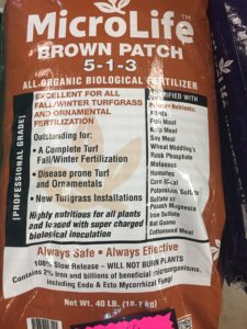 MicroLife Brown Patch 5-1-3