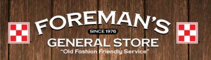 Foreman's General Store Parts Finder