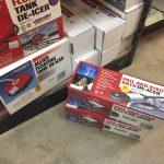 Cold Weather Supplies: Tank and Birdbath De-icers