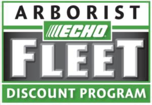 Echo Arborist Fleet Discount Program