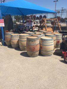 Wine Barrels   Foreman's General Store
