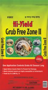 Grub Free Zone for Grub Worm Control