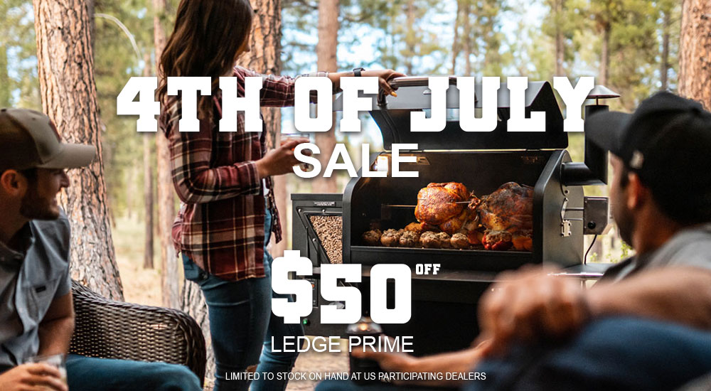 July 4th Grill Sale, save $50